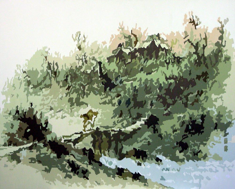 춘일, oil on canvas, 161.9x130.4cm, 2006.jpg