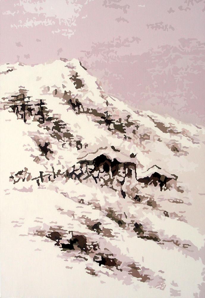 四季山水-冬景,oil on canvas, 112.2x162.1cm, 2007.jpg