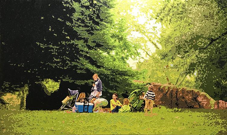 Sweet Peace, 20180630, Oil on canvas, 96.8 x 161.9cm.jpg