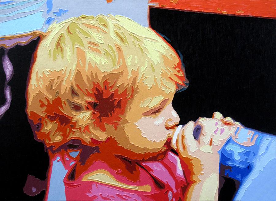The Moment, 20150822, Oil on canvas, 33.2 x 45.4cm.jpg