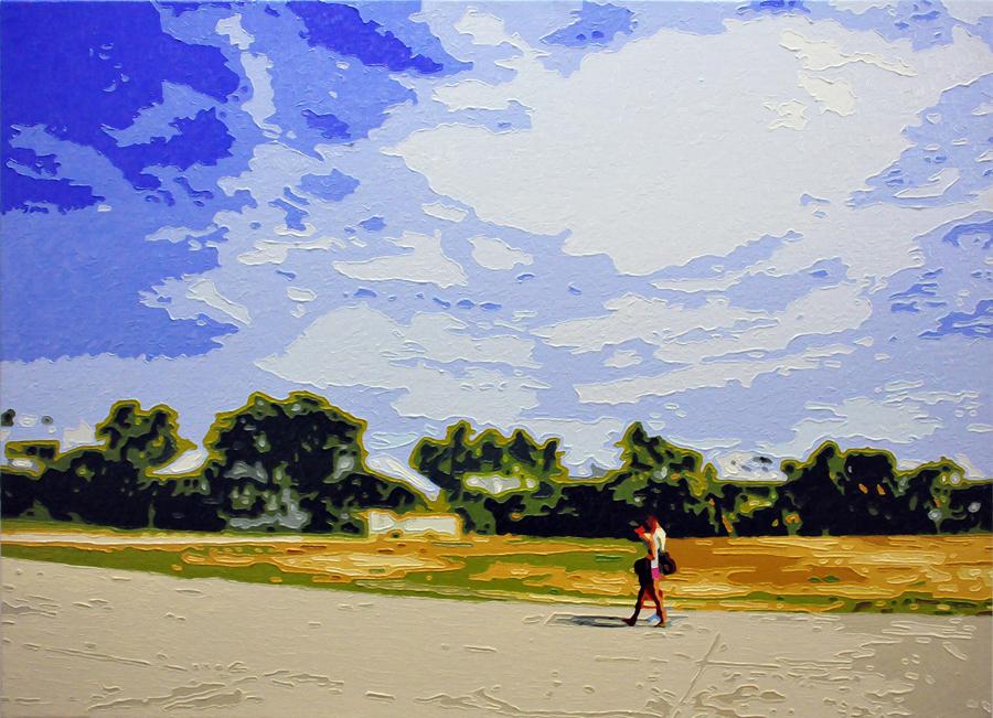 The Lovers, 20150827, Oil on canvas, 53.0 x 72.8cm.jpg