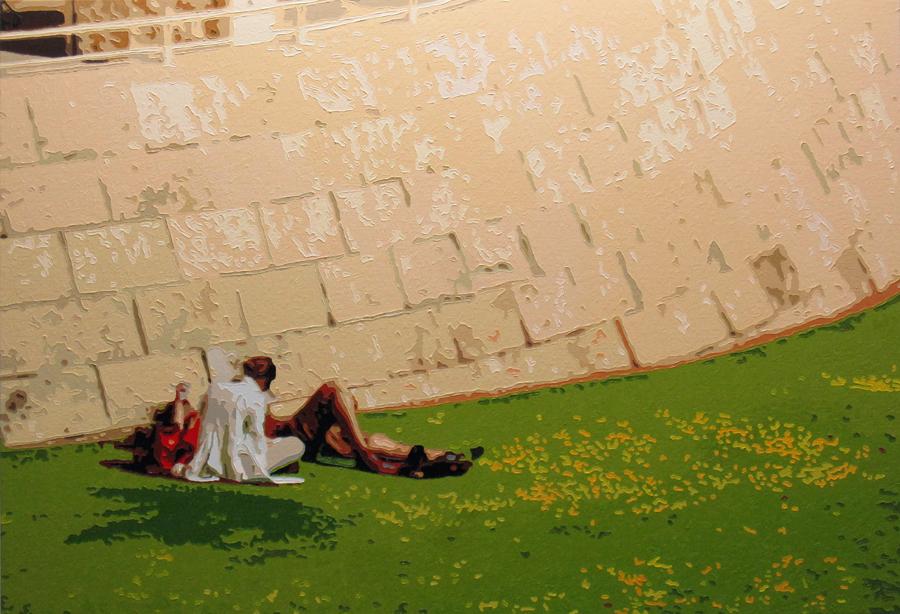 The Lovers, 20151020, Oil on canvas, 80.3  x 116.7cm.jpg
