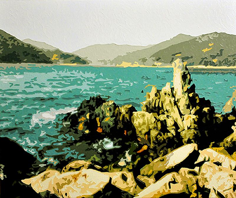 The Sea, 20141231, Oil on canvas, 60.6 x 72.6cm.jpg