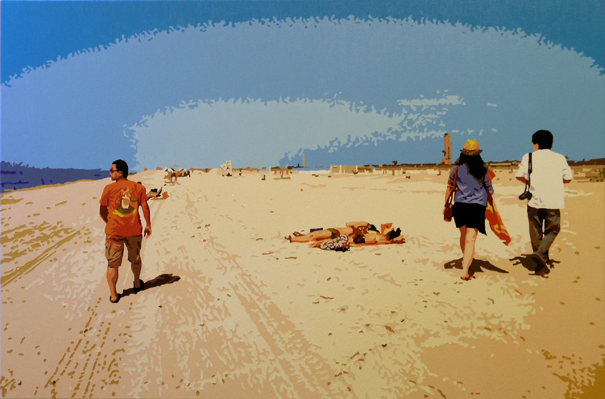 Last Summer, 2010.10.19, oil on canvas, 61 x 91.2cm.jpg